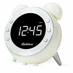Electrohome Retro Alarm Clock Radio with Motion Activated Night Light and Sno...