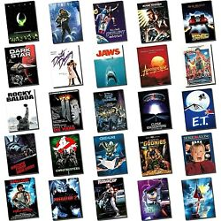 Movie Posters - Poster Art - Classic Movies - Aluminium Sheet - Huge Selection