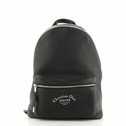 Christian Dior Rider Backpack Leather Large