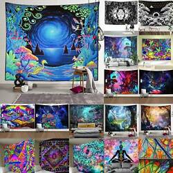 Psychedelic Wall Tapestry Bedspread Throw Hanging Blankets Room Home Decoration