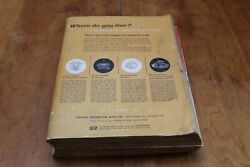 Vintage Sears, Roebuck And Company Fall Winter 1956 Catalog 1,508 Pages Chicago