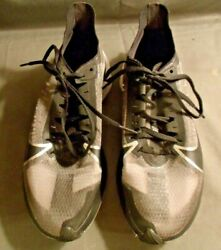 Nike Zoom Ladies Running Shoes Size 8 Black White And Silver