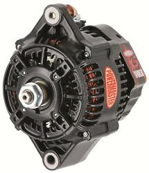 Powermaster 8156 Denso-style 118mm Race Alternator 180 Amp 1-wire 16 Volt No Pul