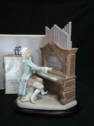 Limited To 2500 Lladro 1801 Young Bach