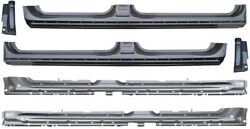 2009-2014 Ford Pickup F150 Outer Inner Rocker Panels W Cab Corners 4 Dr Crew Cab