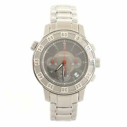 And Co. Mark T-57 Chronograph Automatic Watch Stainless Steel 42