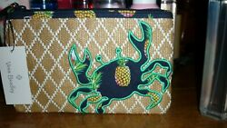 Vera Bradley Beach Large Wristlet in Toucan Party NWT Free Shipping $17.99
