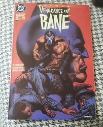 Vengeance Of Bane 1 First Appearance Origin Bane First Print Key Issue