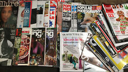 10 Scrap Magazine Lot Ripped Pages Used Scrapbook Epherma Supplies