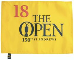 2022 British Open Championship St Andrews Official Golf Pin Flag Tiger Woods ⛳️