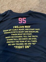 Usc Trojans Nike Football Shirt 2xlteam Issued 95 Dri Fit Conditioning Weight