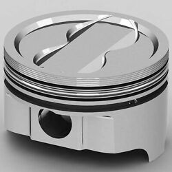 Kb Performance Pistons Ic9980.030 Chevy 350ci Fhr Forged Pistons Dish Top 4v