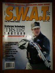 Swat Magazine March 1994 Annual Tactical Shoulder-arm Issue Trs 1187 110fp Sks