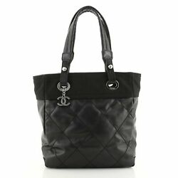 Biarritz Tote Quilted Coated Canvas Small