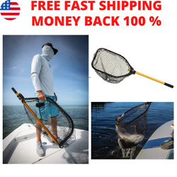 Power Stow Poly Net Foldable Net For Easy Storage Freshwater/saltwater Fishing