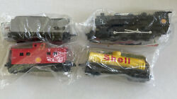 Atlas Model Trains Shell Holiday Gift Set Locomotive Tank Coal And Caboose