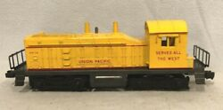 Lionel No. 635 Union Pacific Diesel Switcher, Painted Yellow