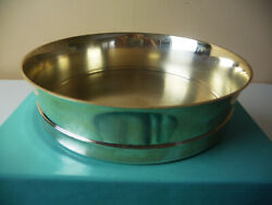 And Co. Sterling Silver Wine Coaster 5-3/8diam 324grams