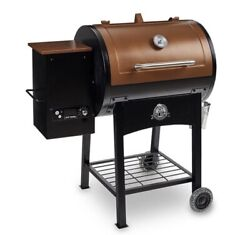 Pit Boss Classic 700 Sq In Wood Fired Pellet Grill With Flame Broiler Bbq...