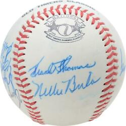 1988 Nl Team Signed Old Timers Cracker Jack Baseball With Mult Sigs - Bas A66586