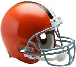 Cleveland Browns Throwback 1962-1974 Vsr4 Full-size Authentic Football Helmet
