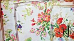 New Belle Harbor Floral Queen Xdeep Fitted Sheet Set 350 Luxury -4p
