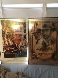 Indiana Jones And The Last Crusade And Temple Of Doom One Sheet