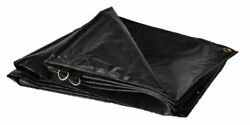 10and039 X 12and039 Dry Top Super Heavy Duty Black 12-mil Poly Truck Tarp Item 510126