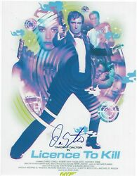 Don Stroud Signed 8.5 X 11 Photo License To Kill Movie Actor Free Shipping