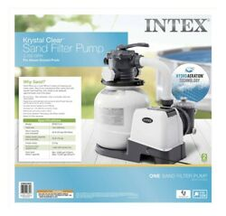 Intex 2100 Gph Sand Filter Pump For Above Ground Pools 🚚💨free Shipping🚚💨