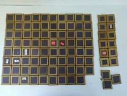 Lot Of 94 Amd Ceramic Cpu Gold Pins. High Yield For Scrap Gold Recovery
