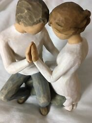 Brand New Willow Tree Andldquoaround Youandrdquo Sculpted Hand-painted Figurine/27182/44.99