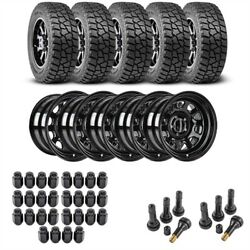 Jegs 681010k75 Wheel And Tire Kit For 1987-2006 Jeep Wrangler/1984-2001 Jeep