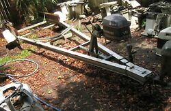 Eezzzz On Aluminum Boat Trailer Project - Pick Up In Mobile, Alabama