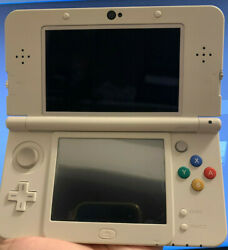 New Nintendo 3ds Mario 3d Land White Edition With Charger.