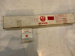 Vintage 1979 Ruger 10/22 Box Only With Instruction Manual, W Original Scope Base