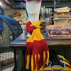 The Making Of Harry Potter Warner Brothers Studio In London Gryffindor Scarf New