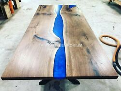 Epoxy Table Dining Sofa Center Table Top Live Edge Olive Table Custom Order