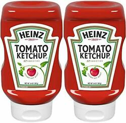 2-pack Heinz, Tomato Ketchup Kosher Certified, 14oz Squeeze Bottle, Usa Product