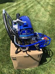 Graco Ultra Max Ii 490 Pc Pro Electric Airless Sprayer Stand 17e852. + 3 Tip