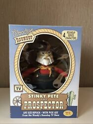 Uk🇬🇧 Toy Story Life Size Stinky Pete The Prospector, Young Epoch Wr Toys