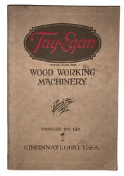 Trade Catalog, Fay And Egan Co, 1926-1927, Standard Woodworking Machinery