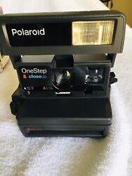 Polaroid One Step Flash 600 Point And Shoot Film Camera