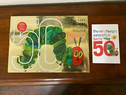 The Very Hungry Caterpillar Signed By Eric Carle Limited 50th Anniversary Rare