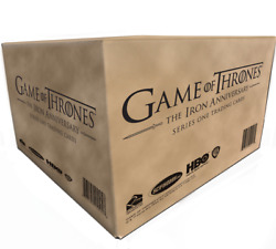 Game Of Thrones Iron Anniversary Series One - Sealed Case Of 10 Boxes Pre-order
