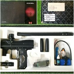 Wdp Angel A4 Fly - New - Dust Black - Paintball