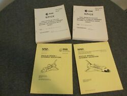 1978 Lot Nasa-msfc/esa Spacelab Mission 1and 2 Experiments+esa Spice Payload Books