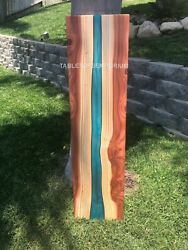 Epoxy Table Sofa Resin River Table Natural Acacia Wood 35 Thickness {only Top}