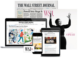 Wall Street Journal Subscription 1-year Print And Online Wsj New Or Renewal
