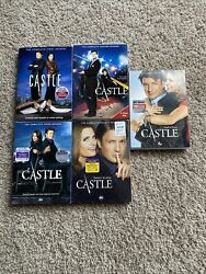 Castle The Complete 1-5 Season 5-disc Set Dvds Oop Rated Smoke Free Home